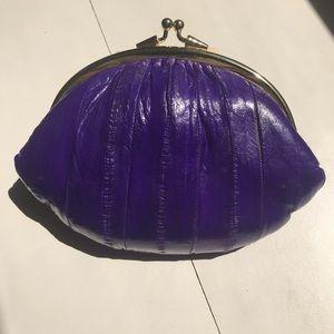 Handbags - Purple Snap Coin Purse